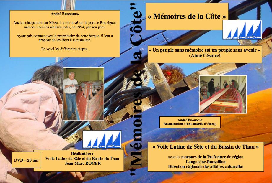 Jaquette de la collection de Vidéos Mémoire de la côte